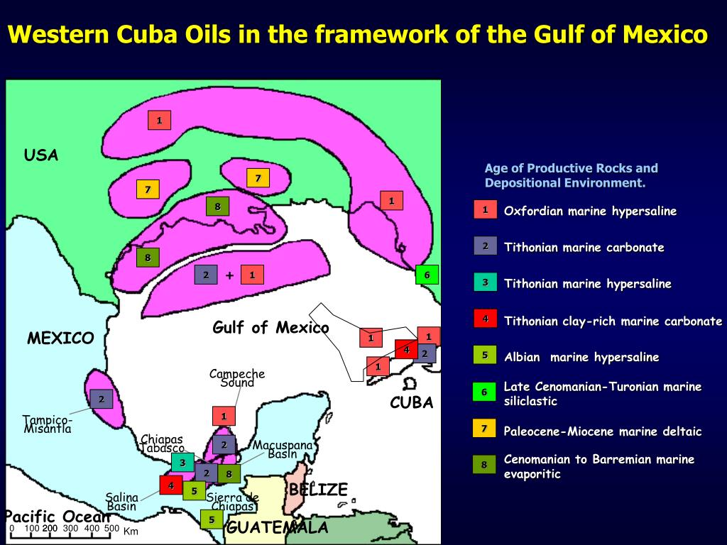 Western Cuba Oils in the framework of the Gulf of Mexico