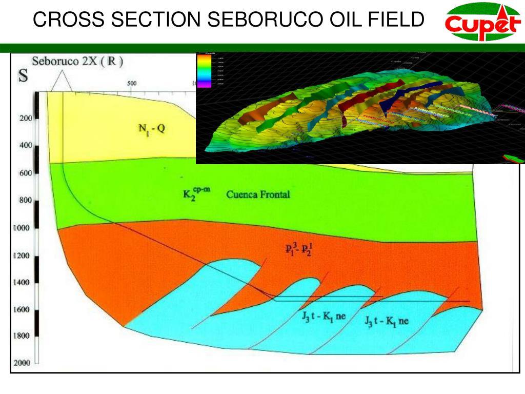 CROSS SECTION SEBORUCO OIL FIELD