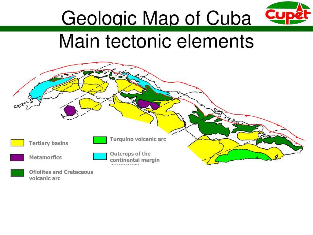 Turquino volcanic arc