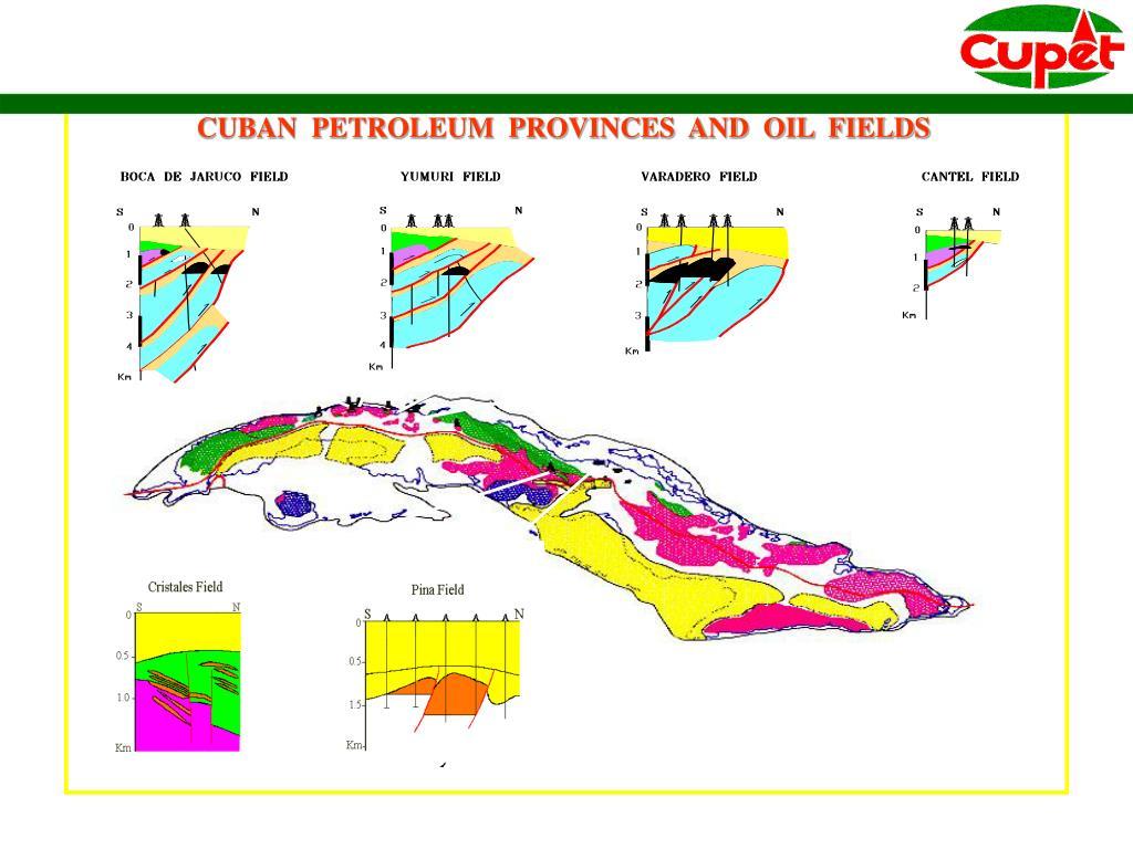 CUBAN  PETROLEUM  PROVINCES  AND  OIL  FIELDS