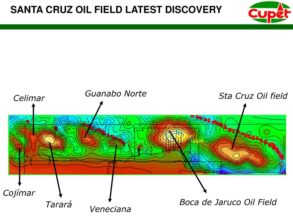 SANTA CRUZ OIL FIELD LATEST DISCOVERY