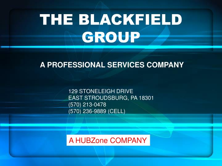 The blackfield group