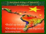 2 integrated strategy of industrial development