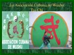 la asociaci n cubana de wushu tai chi