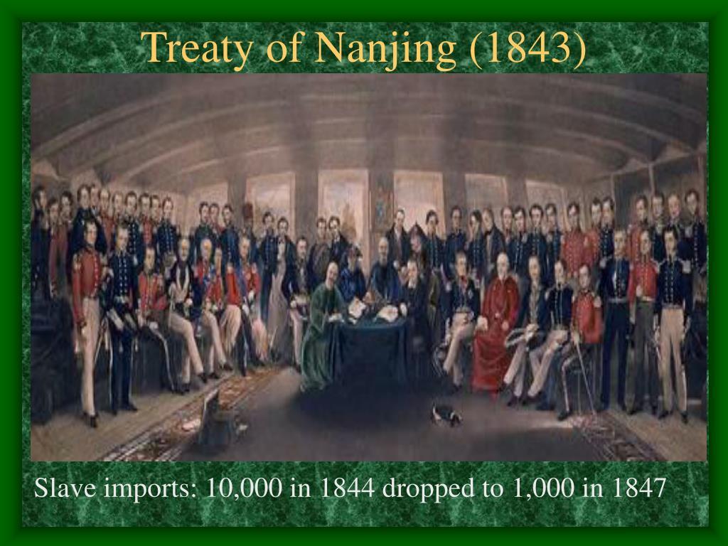 Treaty of Nanjing (1843)