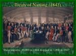 treaty of nanjing 1843