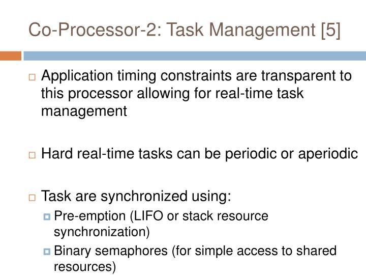 Co-Processor-2: Task Management [5]