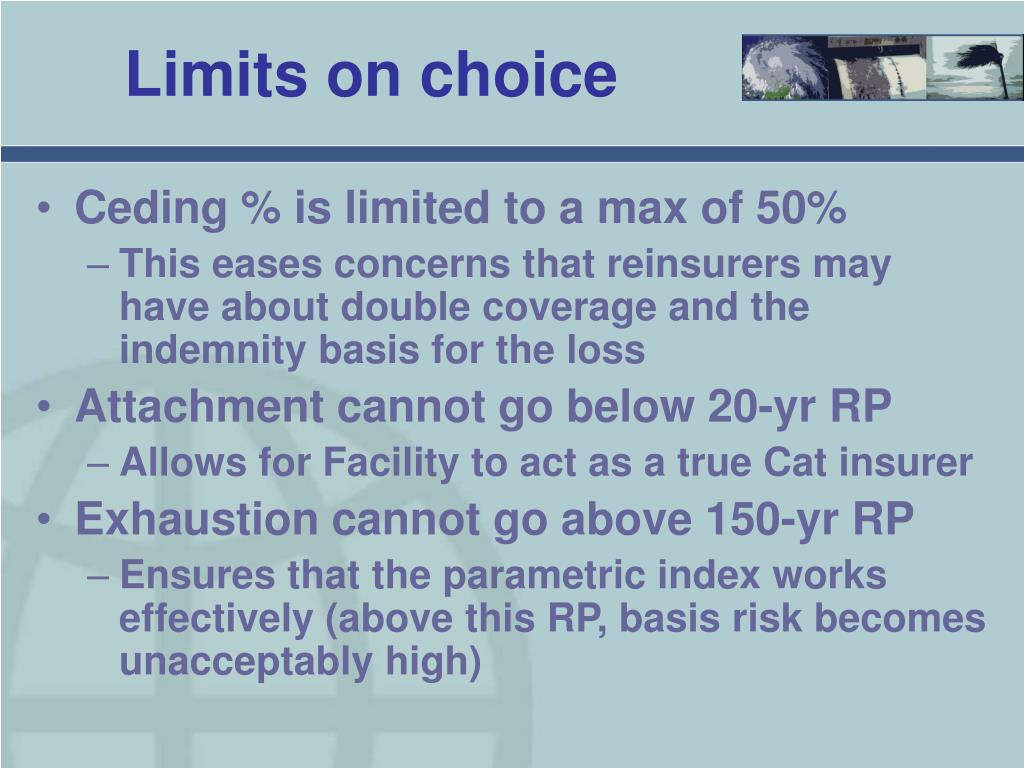 Limits on choice