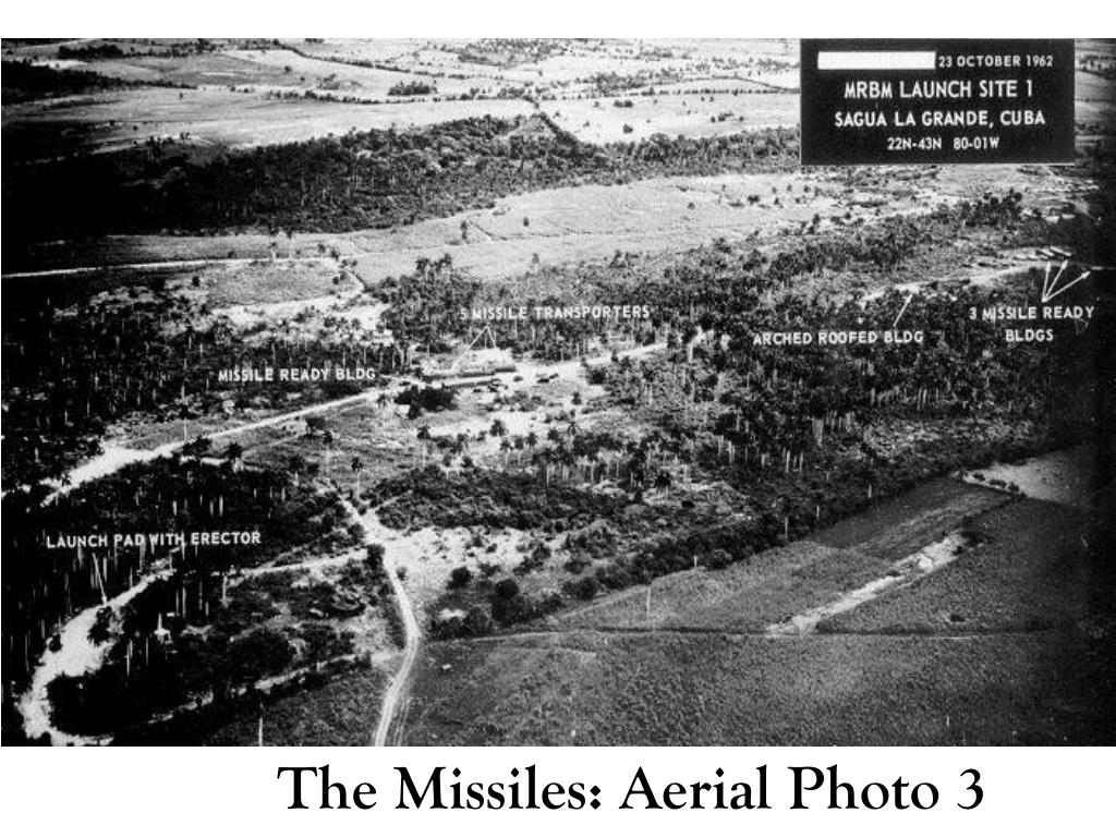 The Missiles: Aerial Photo 3