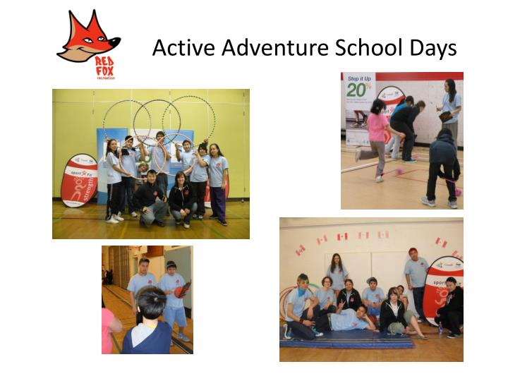 Active Adventure School Days