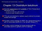 chapter 13 clostridium botulinum