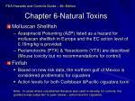 chapter 6 natural toxins
