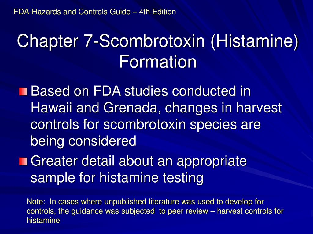 FDA-Hazards and Controls Guide – 4th Edition