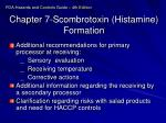 chapter 7 scombrotoxin histamine formation6