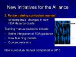 new initiatives for the alliance20
