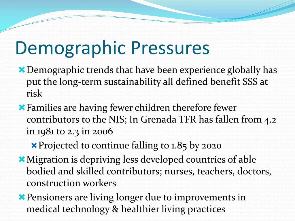 Demographic Pressures