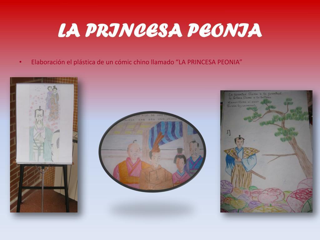 LA PRINCESA PEONIA