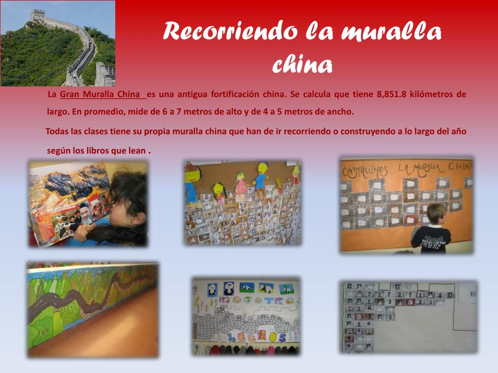 Recorriendo la muralla china