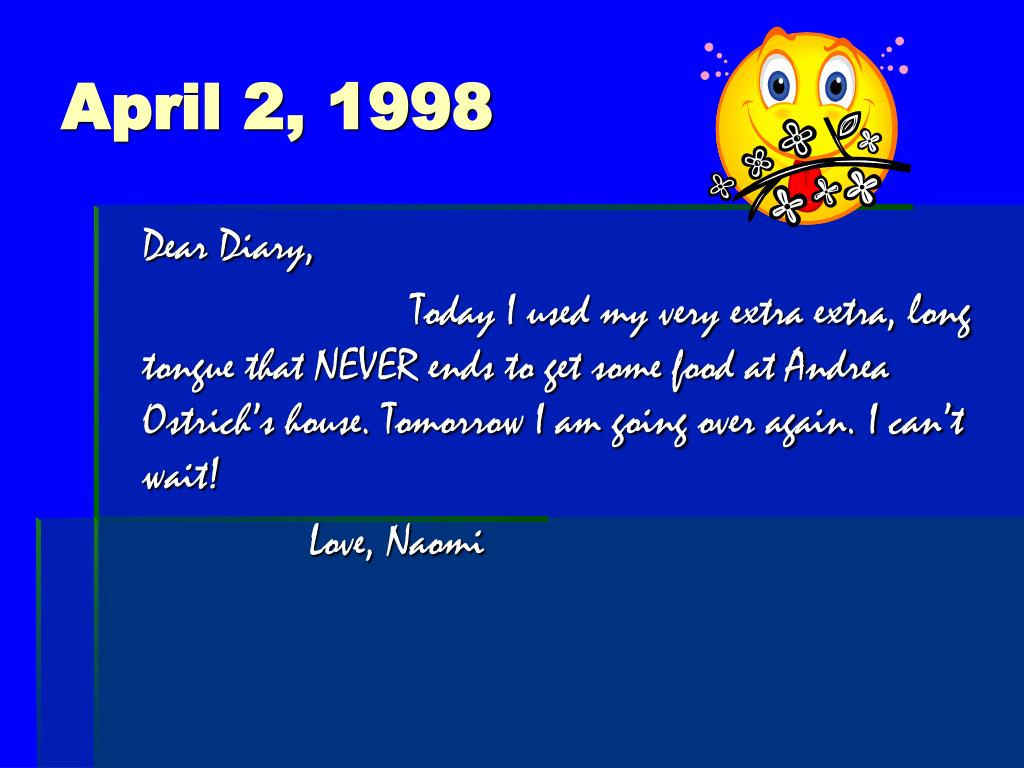 April 2, 1998