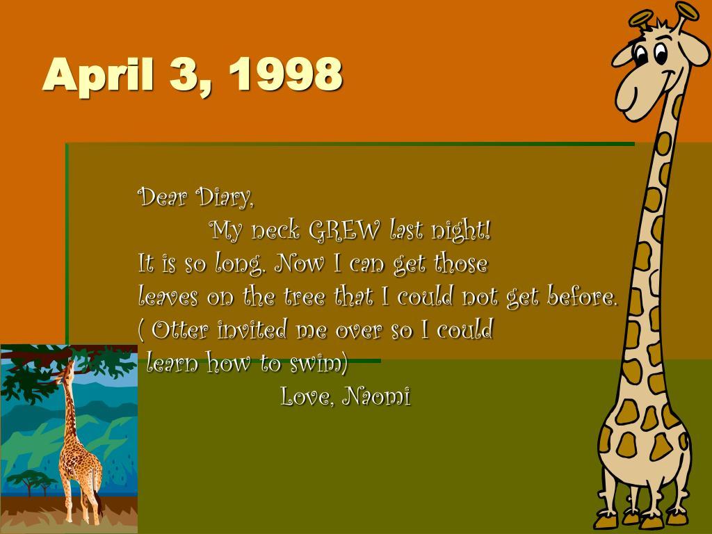April 3, 1998