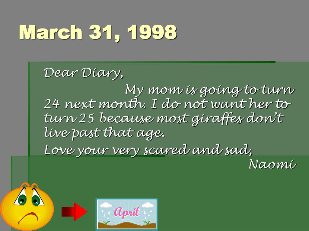 March 31, 1998