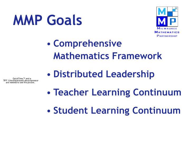 MMP Goals