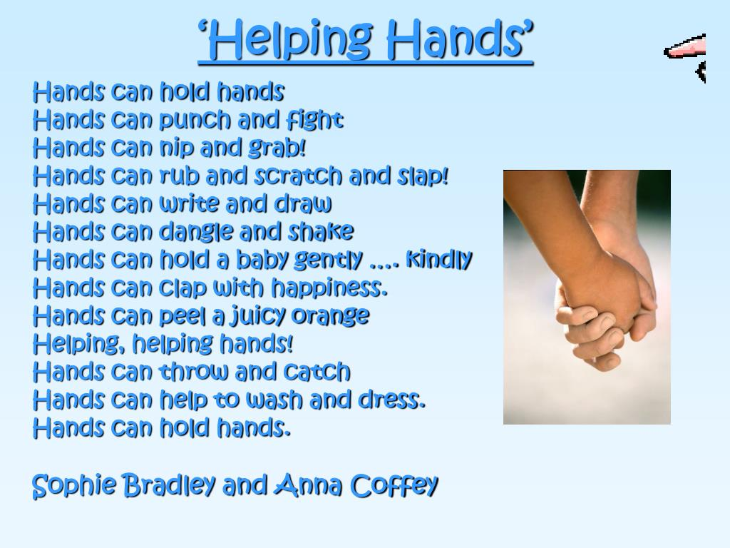 'Helping Hands'
