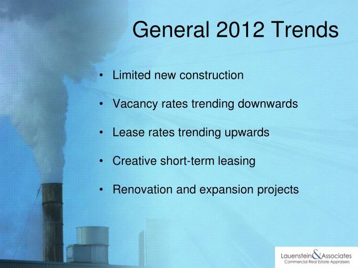 General 2012 Trends