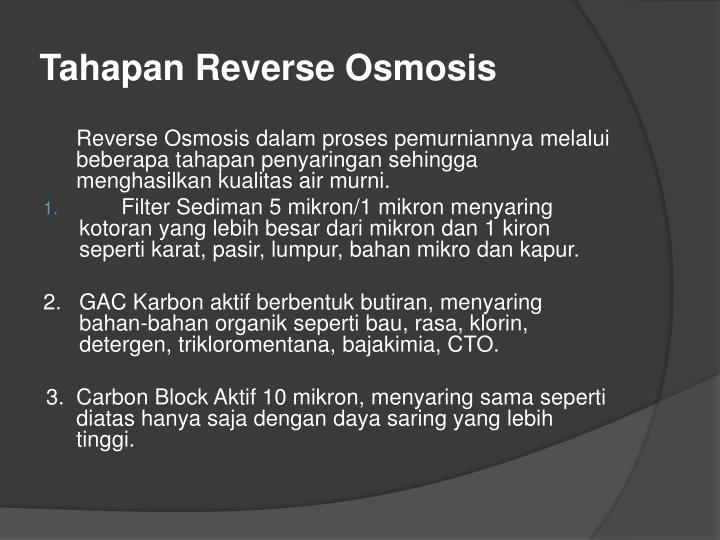 Tahapan Reverse