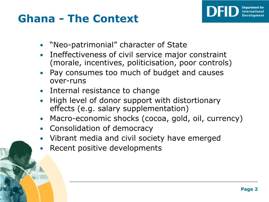 Ghana - The Context