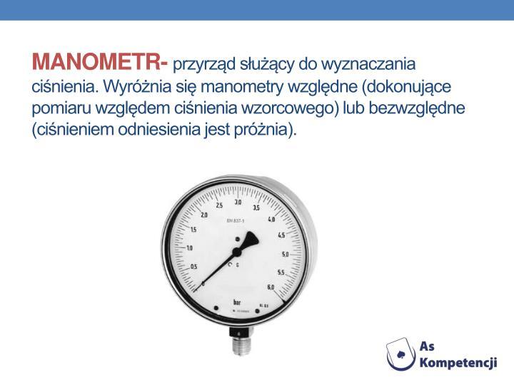 MANOMETR-