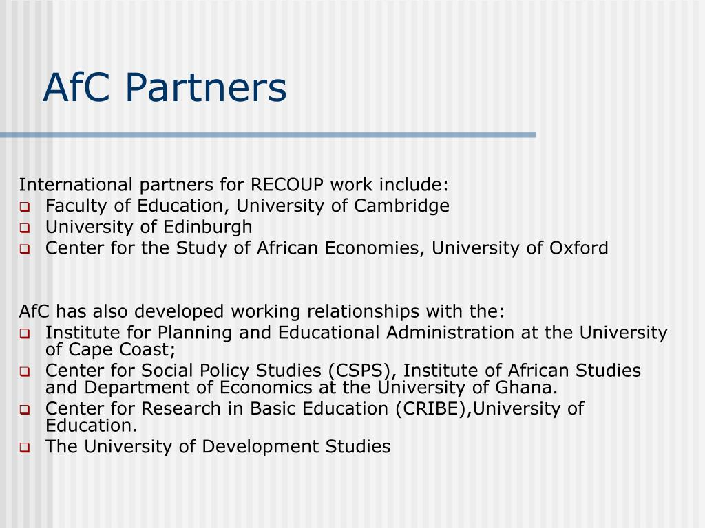 AfC Partners