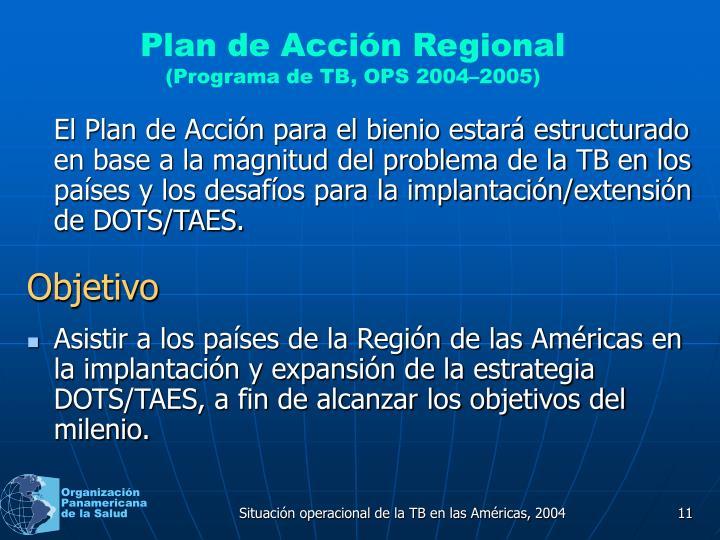 Plan de Acción Regional