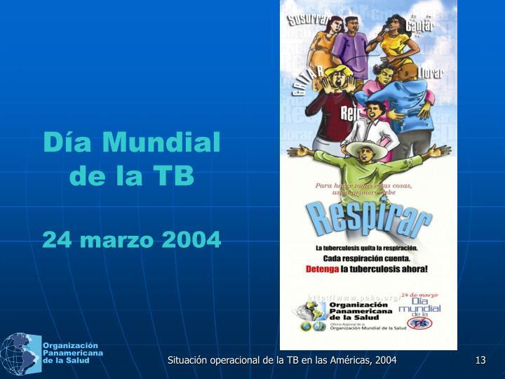 Día Mundial de la TB