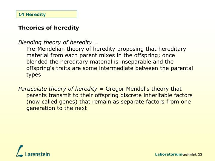 14 Heredity