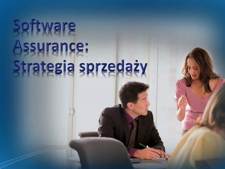 Software Assurance: