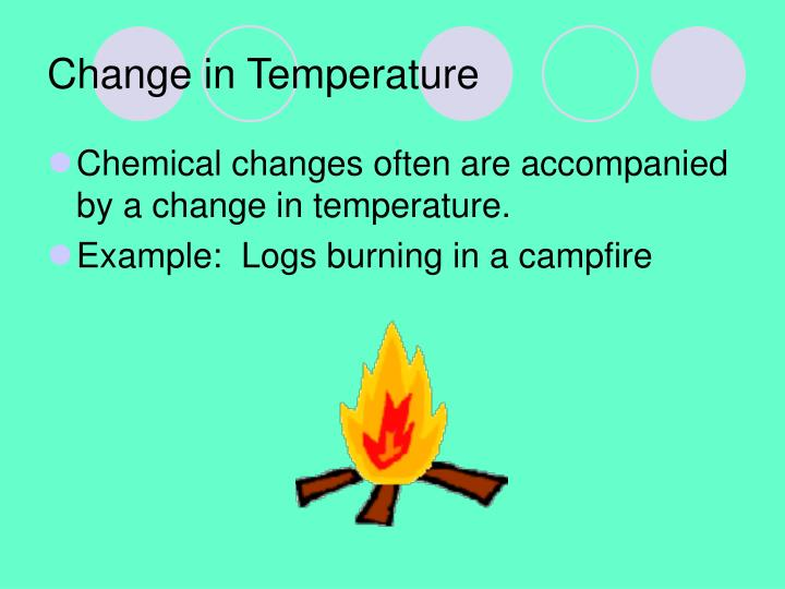 Change in Temperature