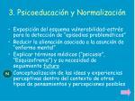 3 psicoeducaci n y normalizaci n