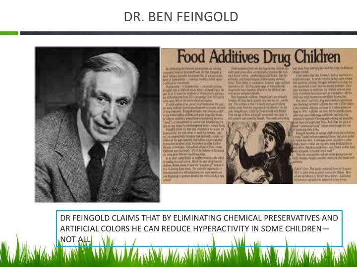 DR. BEN FEINGOLD