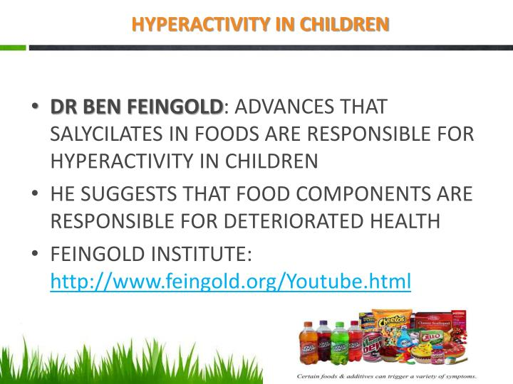 HYPERACTIVITY IN CHILDREN