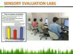 sensory evaluation labs