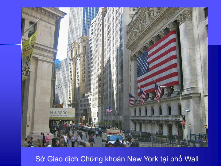 S Giao dch Chng khon New York