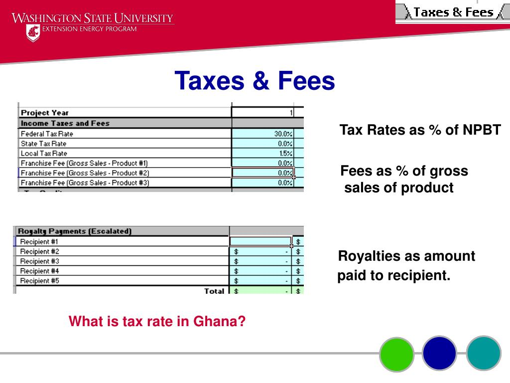 Taxes & Fees