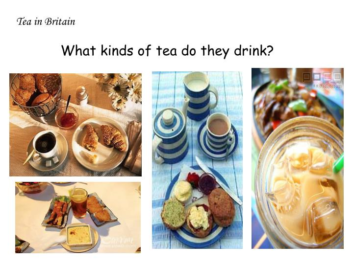 Tea in Britain
