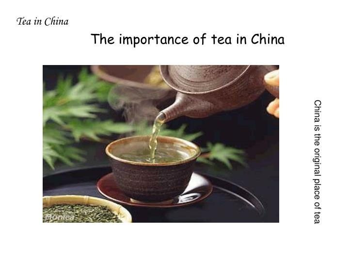 Tea in China