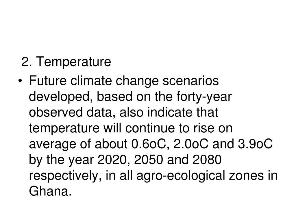 2. Temperature