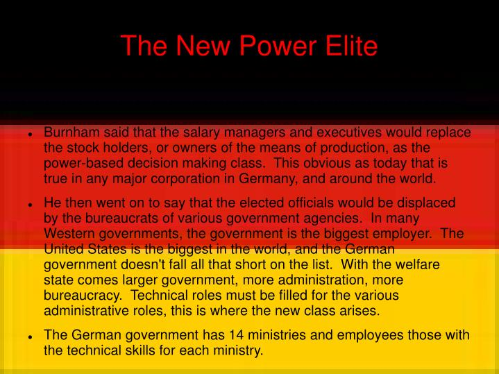 The New Power Elite