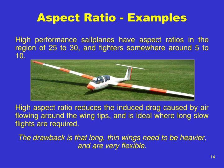 Aspect Ratio - Examples