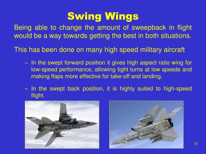 Swing Wings