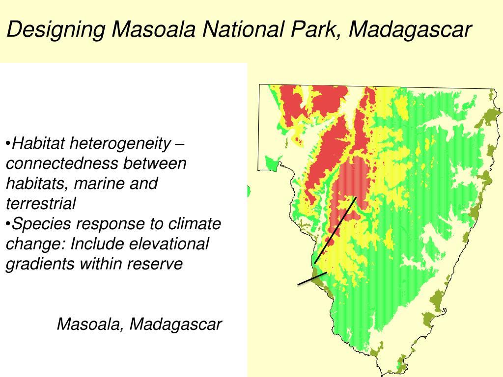 Designing Masoala National Park, Madagascar
